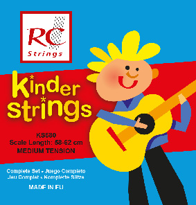 RC Strings KS580 Kindergitarre 3/4 Klassik Satz