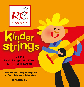 RC Strings KS520 Kindergitarre 1/2 Klassik Satz