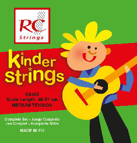 RC Strings KS460 Kindergitarre 1/4 Klassik Satz
