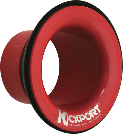 KickPort KP2-R Bass Drum Sub-Booster, red