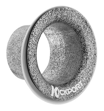 KickPort KP2-SS Bass Drum Sub-Booster, Silver Sand